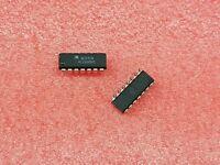 2X MOTOROLA NE592N VIDEO AMPLIFIER,BIPOLAR,DIP,14PIN