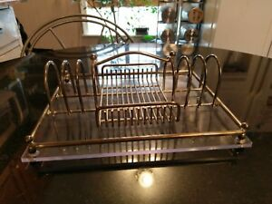 Awesome Antique Silver Plate Condiment Tray/Table Center Piece