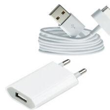 2in1 USB Ladekabel Kabel Ladegerät Netzteil für Original iPhone 4 iPhone 4S