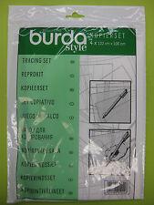 burda Kopierset Set  für Schnittmuster abpausen