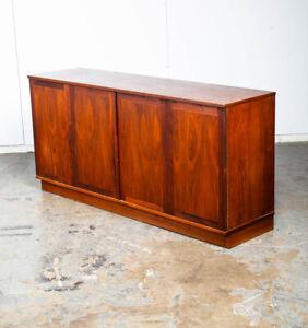 Mid Century Modern Credenza Sideboard Glenn California John Kapel Walnut Danish