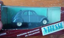 CITROEN 2CV 1954 open VITESSE RARE 2 CV 1/43 BOITE