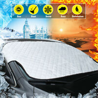 Universal Car Front Windshield Snow Cover UV Frost Sun Shade Protector Shield