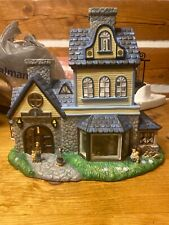 Partylite Olde World Candle Shop Tealight House Retired P7315 New In Plastic