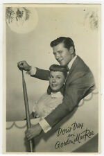 c 1950 Movie Film Star DORIS DAY Gordon MacRae Dutch photo postcard