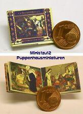 1103# Miniatur Kinderbuch - Schneewittchen - Puppenhaus - Puppenstube - M 1zu12