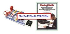 Snap Circuits SC-750EDU EDUCATIONAL MID-HI SCH VERSION  SC- 750 & STUDENT GUIDE