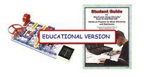 SNAP CIRCUITS SC-750EDU EDUCATIONAL MID-HI SCHL VERSION  SC- 750 & STUDENT GUIDE