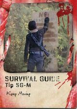 Walking Dead Survival Box Survival Guide Chase Card #SG-M Keep Moving