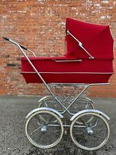 Swedish Brio  Vintage 1970s. Rocking Buggy Stroller Carriage Pram