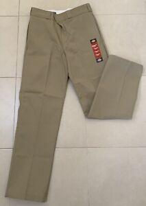 Dickies 874 Original Fit Work Pants Khaki 32W *NEW*