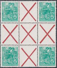 DDR HZ 8 aus Markenheftchenbogen 8 postfrisch (K-3158)