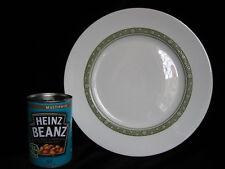 Royal Doulton Fine Bone China RONDELAY 10.5 inch Dinner Plate - white green gold