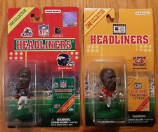 Terrell Davis 1998 Headliners - Georgia Bulldogs & Denver Broncos - Lot of 2