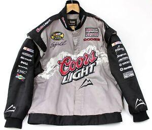 Men's Chase Authentics Drivers Line Sterling Marlin NASCAR Coors Jacket 3XL XXXL