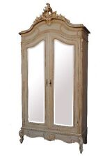 armoire à glaces Louis XV style Shabby chic 1900