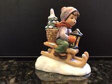 1981 Hummel Goebel Ride Into Christmas Figurine #396 2/0 *Mint*