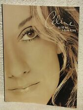 Celine Dion All the Way : A Decade of Song by Celine Dion Music book