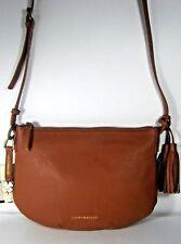 Lucky Brand Jade Crossbody Leather Bag Purse Tobacco LB3171 New NWT