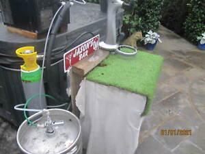 Complete Beer System, cooler pumps dispense system Cornelius Maxi Man Cave