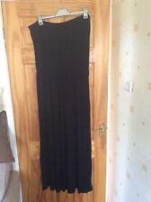 Asos Black Maxi Dress Sz 24