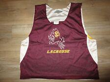 Arizona State Sun Devils #17 ASU Lacrosse Team Game Used Worn Jersey XL