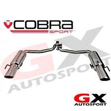 ME12 Cobra Mercedes C Class W204 C250 Diesel 09-13 C350 Style Dual Rear Exhaust