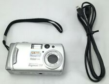 Samsung Digimax 530 5Mp Digital Camera Silver W/ 512Mb Sd, Usb Cable Tested