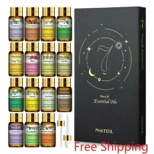 Pure Essential Oils 15pcs Gift Set Natural Plant Aroma Essential Oil Relaxation