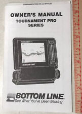 Bottom Line Tournament Pro Sf And Sf Plus Fishfinder Owners Instruction Manual
