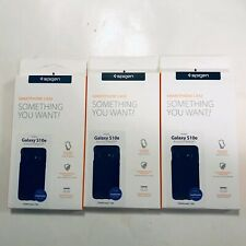 Samsung Galaxy S10e Lot of 3 Phone Case By Spigen S10e  Black 609CS25845