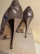 Nicholas Kirkwood Beige 38,5 Peeptoe shoes Seide Plateau Pumps