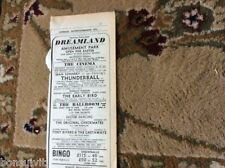 k2-3  ephemera 1966 advert margate james bond thunderball checkmates rivers