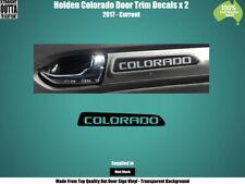HOLDEN COLORADO  - DOOR TRIM DECALS x 2
