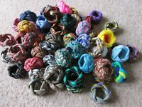 COLORED WOGGLE - Scarf Ring - UK Woven in Paracord *Pick color* Scout Guides edc