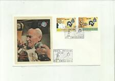 133963 BUSTA PRIMO GIORNO FDC CON SETA PAPA GIOVANNI PAOLO SECONDO 1981