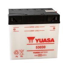 BATTERIA YUASA 53030, 12V/30AH, CCA 180, POSITIVO DX, SFIATO DX, 186X130X171MM