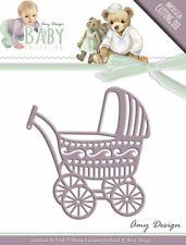 Kinderwagen / Baby Carriage - Stanzschablone  von Amy Design (ADD10054)