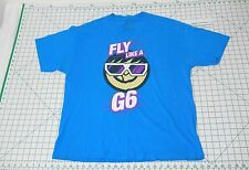 FLY LIKE A G6 Short Sleeve T-Shirt - Men's Size XL - Far East Movement NEFF Tee