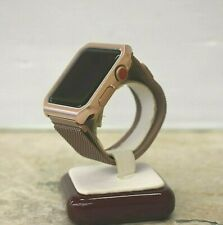 Apple Watch Series 3 42mm Rose Gold Aluminum Case GPS-LTE *AS IS PARTS Or REPAIR