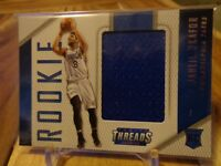 2015-16 PANINI THREADS JAHLIL OKAFOR RC JERSEY ! SIXERS !