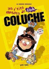COLUCHE - LES P'TITS ENFANTS DE L'ECOLE - LA COMÉDIE MUSICALE - LIVRE + CD NEUF