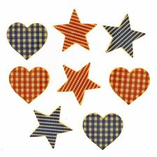 Heart of The Home - Heart & Star Shaped Novelty Craft Buttons by Dress It Up