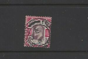 SG M44/4 10d Dull Purple and Deep Glossy Carmine  used