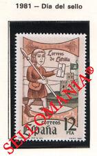 1981 CORREOS DE CASTILLA EDIFIL 2621 ** MNH POSTMAN MAIL MESSENGER POST  TC21224