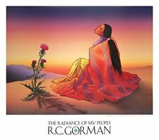NAVAJO DAWN ART PRINT NAVAJO ARTIST R.C. GORMAN southwest cactus latin poster