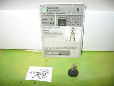 Axis & Allies 1939-1945 Stalwart Lieutenant with card 53/60