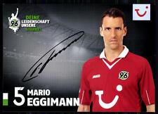 Mario Eggimann Hannover 96 2012-13 Autogrammkarte Original Signiert + A 80411
