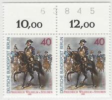 Berlin aus 1980 ** postfrisch MiNr.628 - F.W. von Steuben! Bogenzähler!