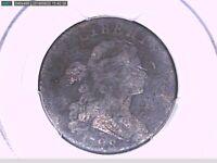 1798 Large Cent PCGS Genuine Env. Damage - VG Details  2nd Hair Style 26896626 V